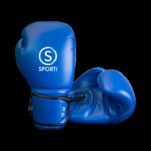 gant boxe bleu