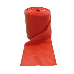 ruban elastique rouge pour sportif