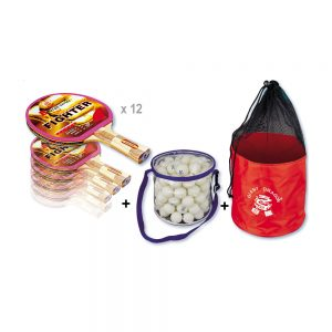 pack raquettes ping pong association