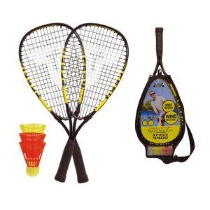raquettes badminton jouer sur la plage