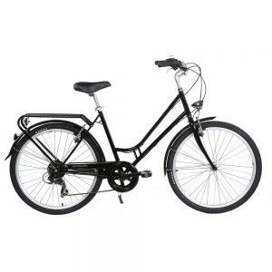 velo bicyclette mixte noir